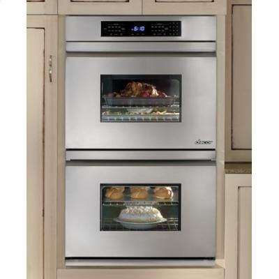 """Special Offers Available Click Image Above: Distinctive 30"""" Double Wall Oven With Convection In Stainless Steel"""