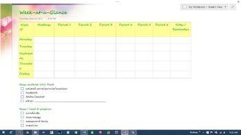 Onenote digital teacher notebookplanner completely editable onenote digital teacher notebookplanner completely editable change background colors wording free sample here fandeluxe Images