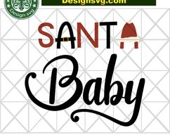 Santa baby,  santa svg, santa gift, santa head, baby svg, santa hat,  santa baby svg, christmas decor, christmas gift, funny christmas day, #1weihnachtstaglustig BIBISHOP on Zibbet: #1weihnachtstaglustig