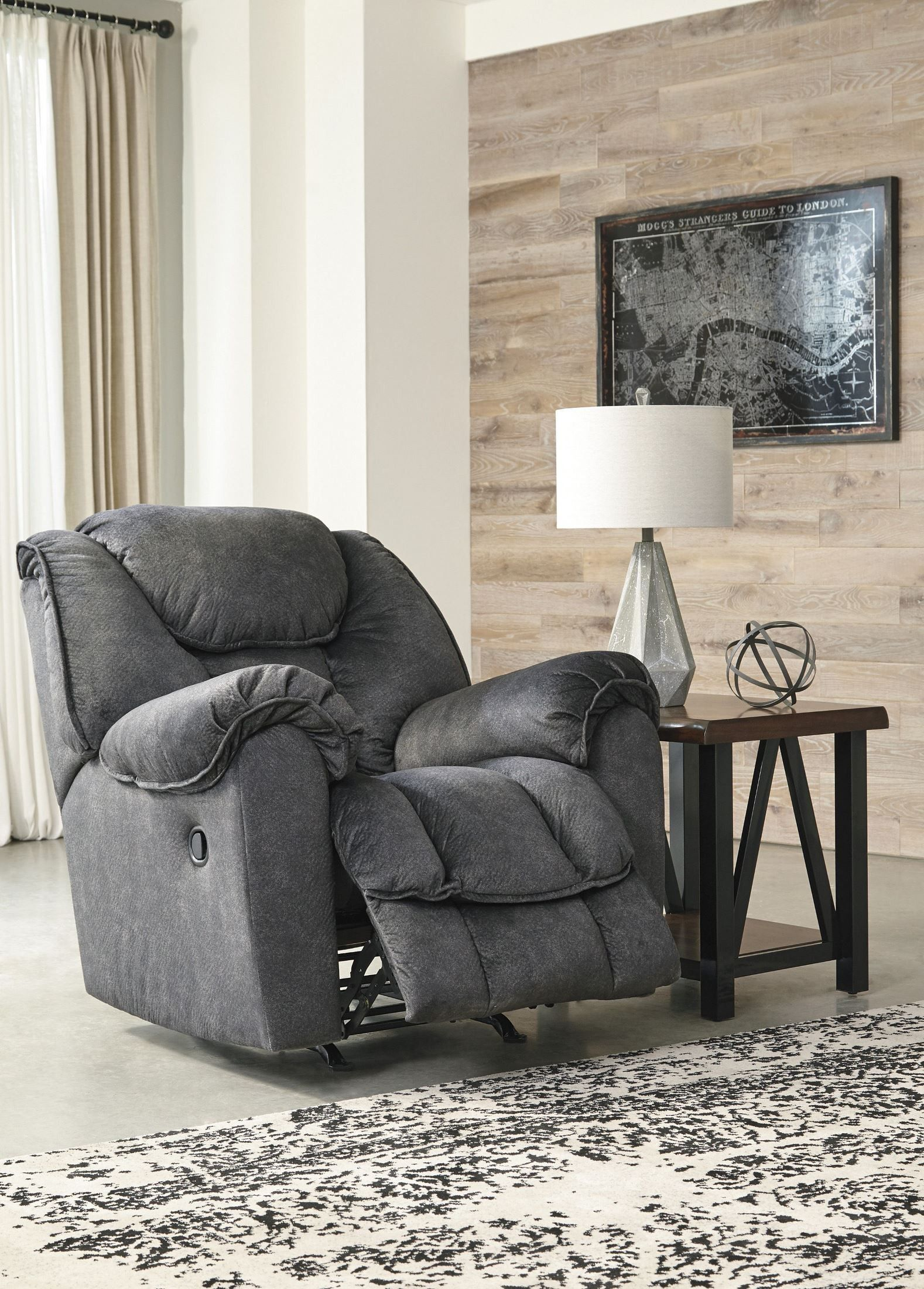 1stopbedrooms Com Rocker Recliners Furniture Rustic Living Room Furniture