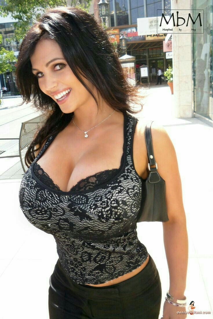 Denise milani boobs