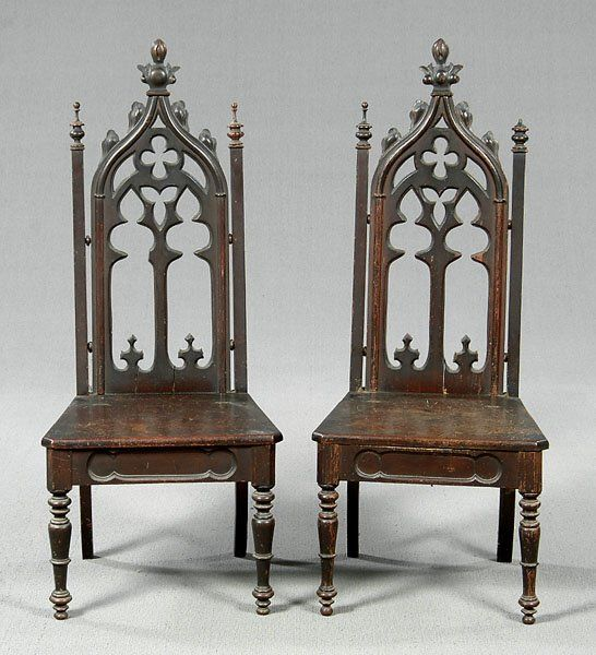 The Wonderful Wooden Chair Gothic Furniture Foto Above Is One Of Wallpaper From Some Other