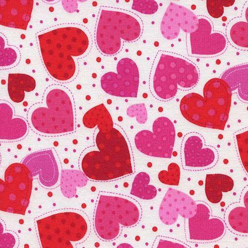 Lovestruck Hearts On White Valentine Background Valentines Scrapbook Pink Wallpaper Heart