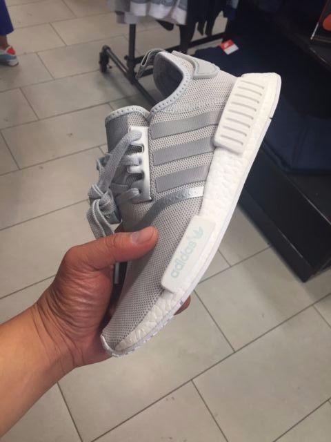6535772b9 Adidas NMD R1 Matte Silver S76004 Women Sizes