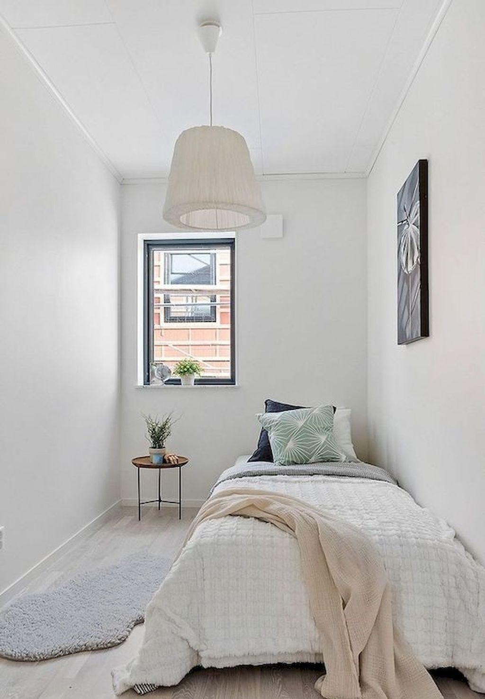 31 Admirable Tiny Bedroom Design Ideas Pimphomee Small Guest Bedroom Apartment Bedroom Decor College Bedroom Decor