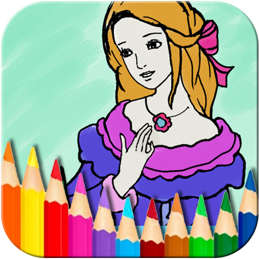 Princess Coloring Book v1.4.0 Mod Apk (AdFree) The Best