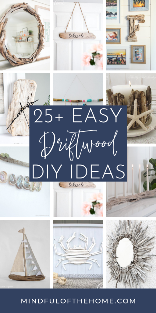 Photo of 25+ Easy Driftwood DIY Home Decor Ideas – Mindful of the Home