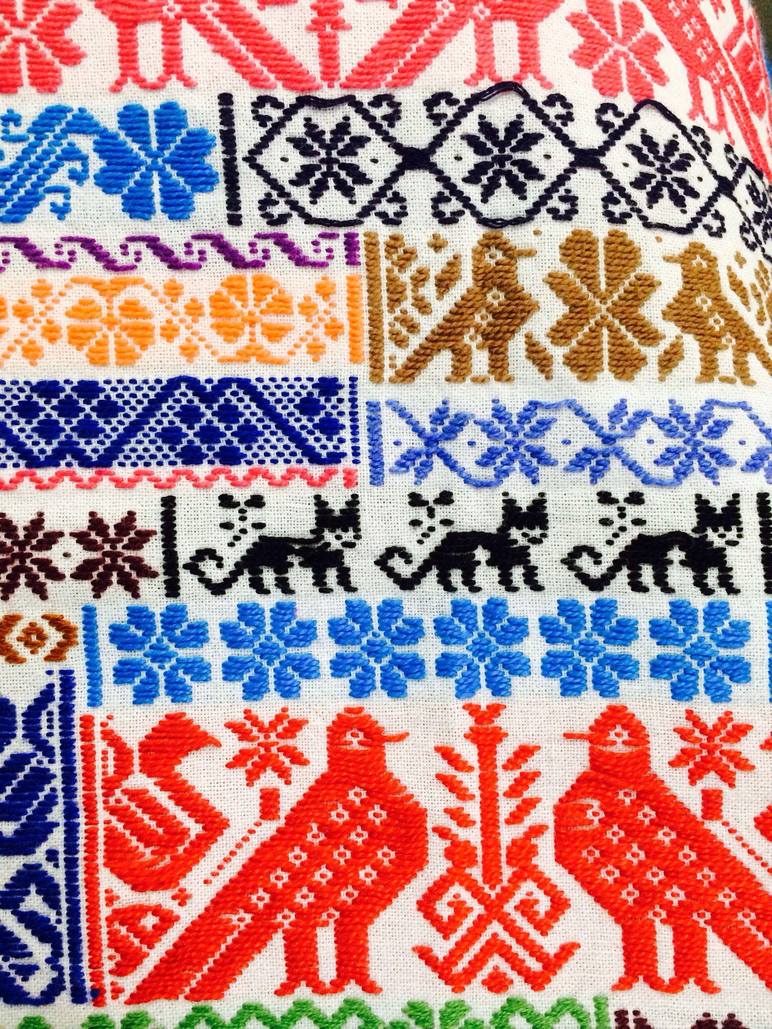 Textil mexicano dise os mexicanos pinterest textiles - Disenos textiles del mediterraneo ...