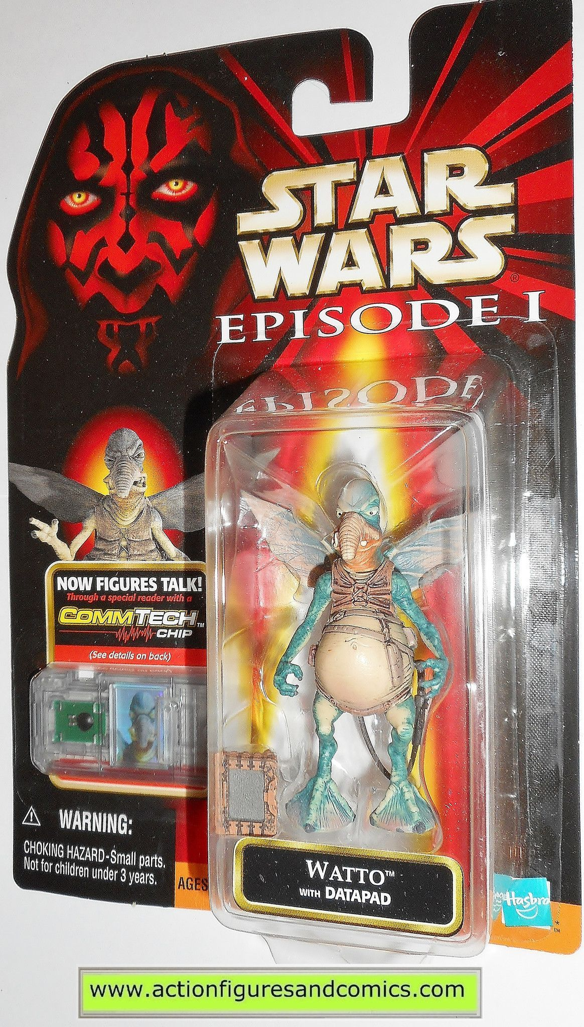 "Hasbro Star Wars Episode 1 12/"" Watto Figure NEW"