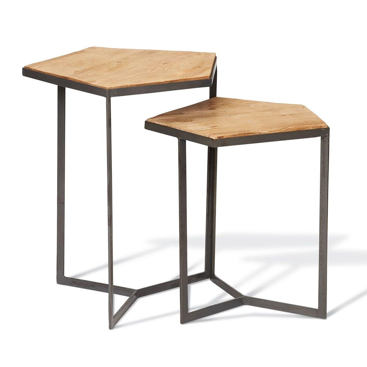 Foreside Home & Garden - Pentagon Tables, Set of 2 | Trend Alert ...