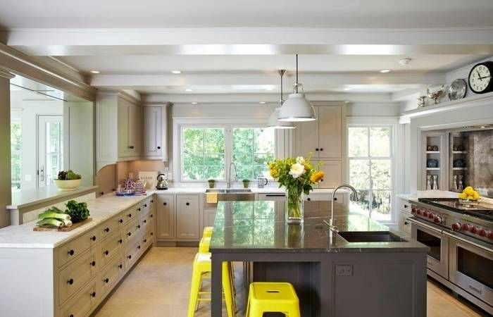 Kitchen Ideas No Upper Cabinets | Upper cabinets, Kitchens ...