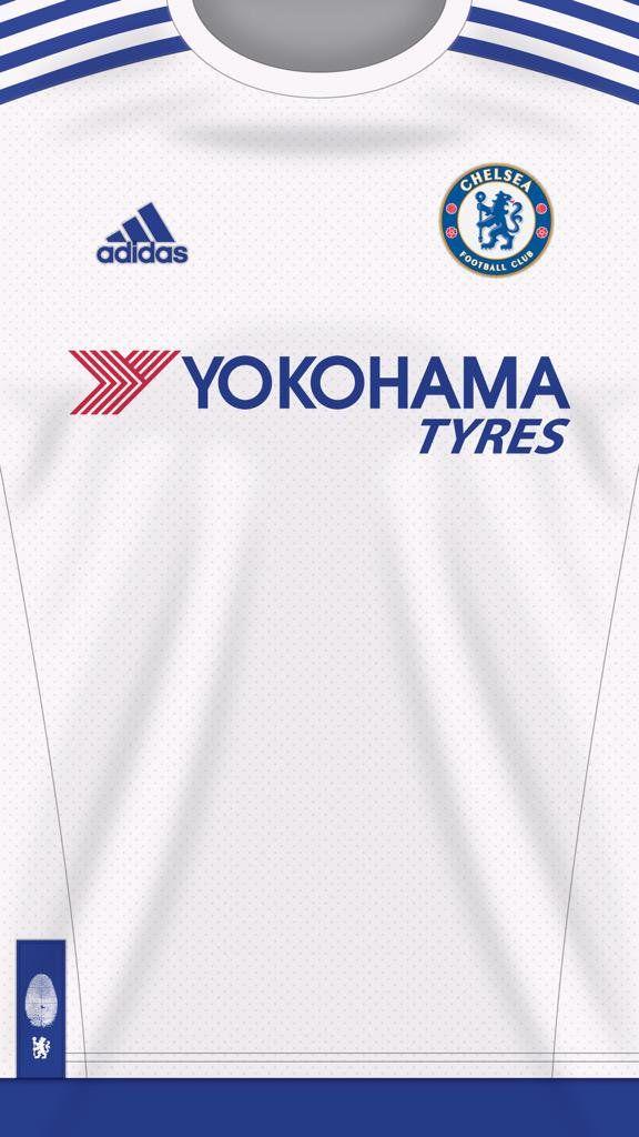 Wallpapers de jersey Chelsea Blanco  #cfc #chelsea