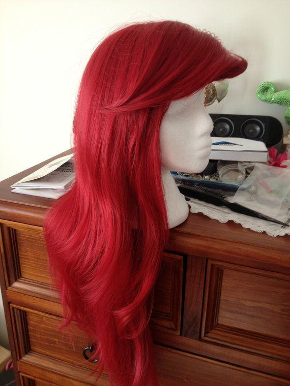 Ariel the Little Mermaid Wig Custom styled by EmrickDesigns @Caitlyn Klotzbach