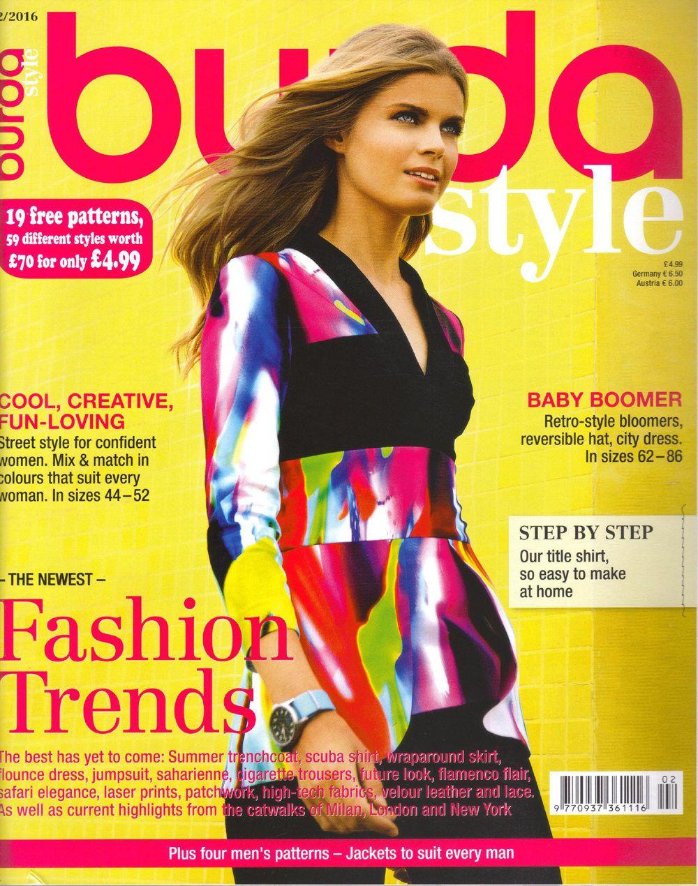 Burda style magazine 22016 english sewing patterns by burda style magazine 22016 english sewing patterns by honeyjamsuniques on etsy jeuxipadfo Image collections