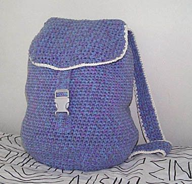 Backpacks Crochet Backpack Free Pattern And Crochet