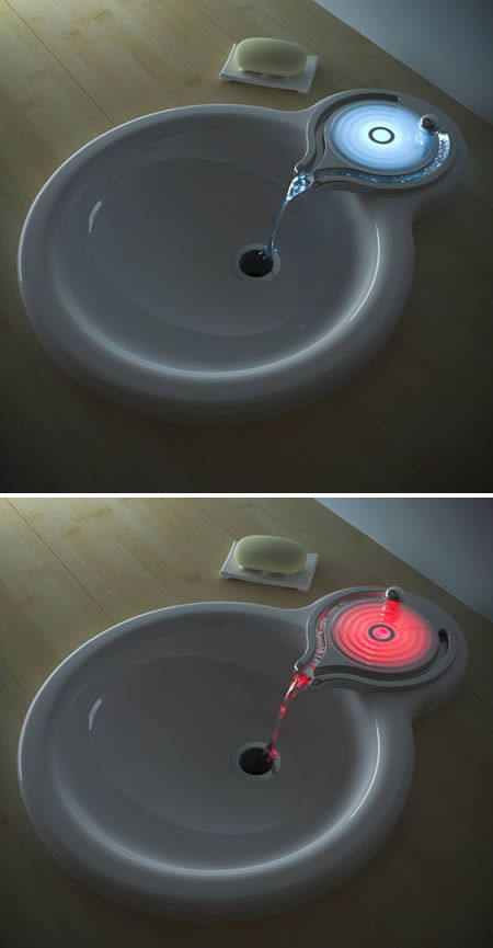 Water Ball Ripples Faucet