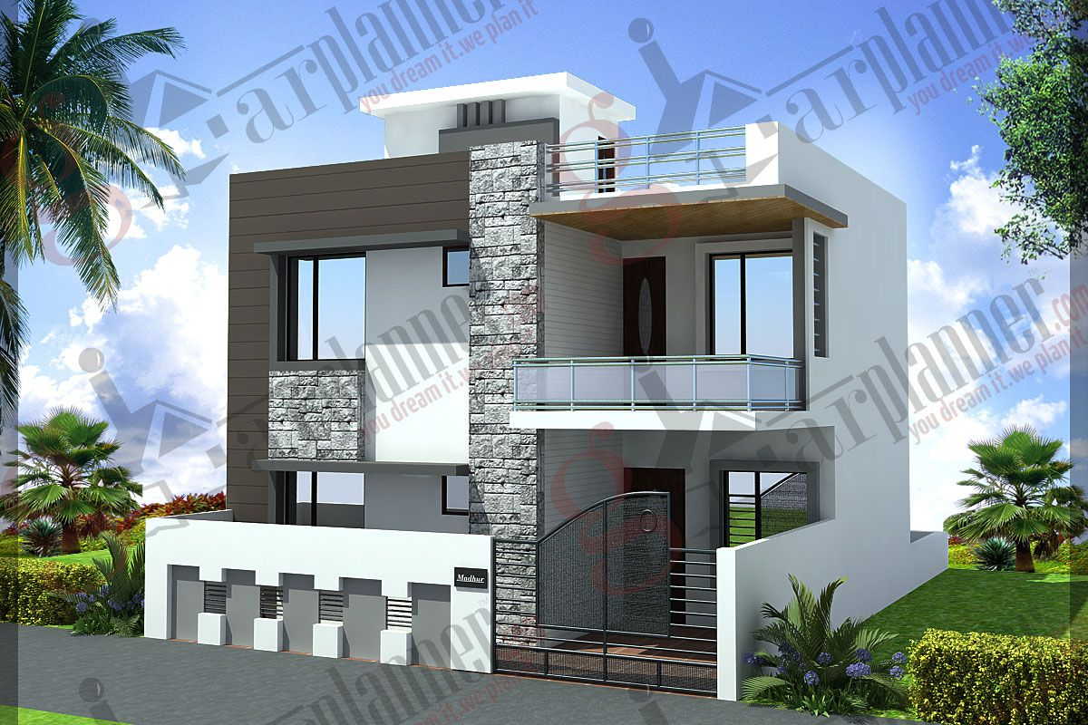 small duplex house designs india - Homes Design In India