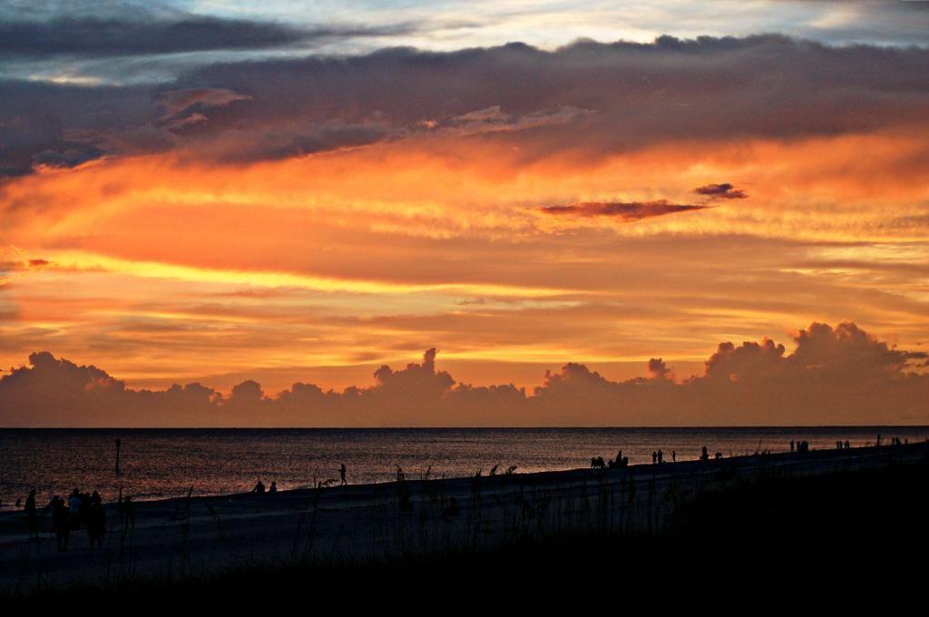 Sunset after storm Englewood Beach Florida | Englewood ...