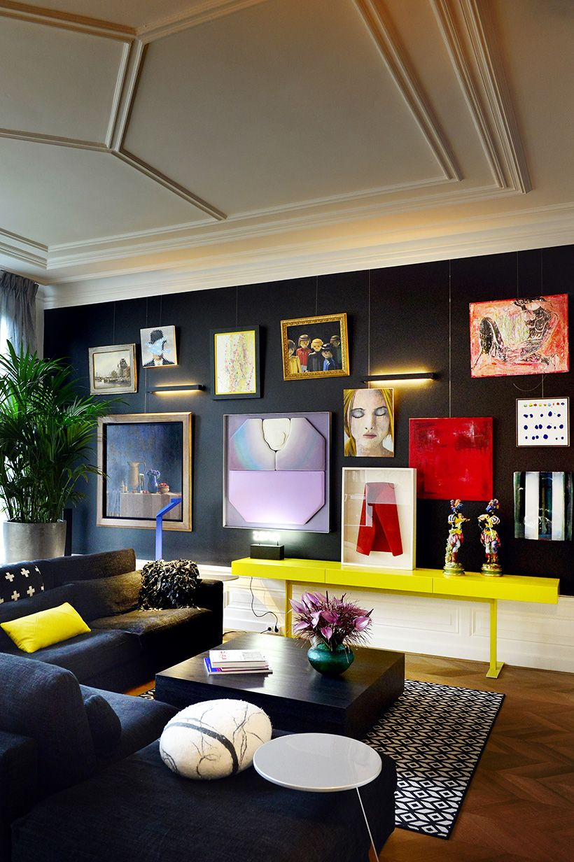 Carol cahill amsterdam mansion livingroom dark interiors space interiors beautiful interiors deco salon