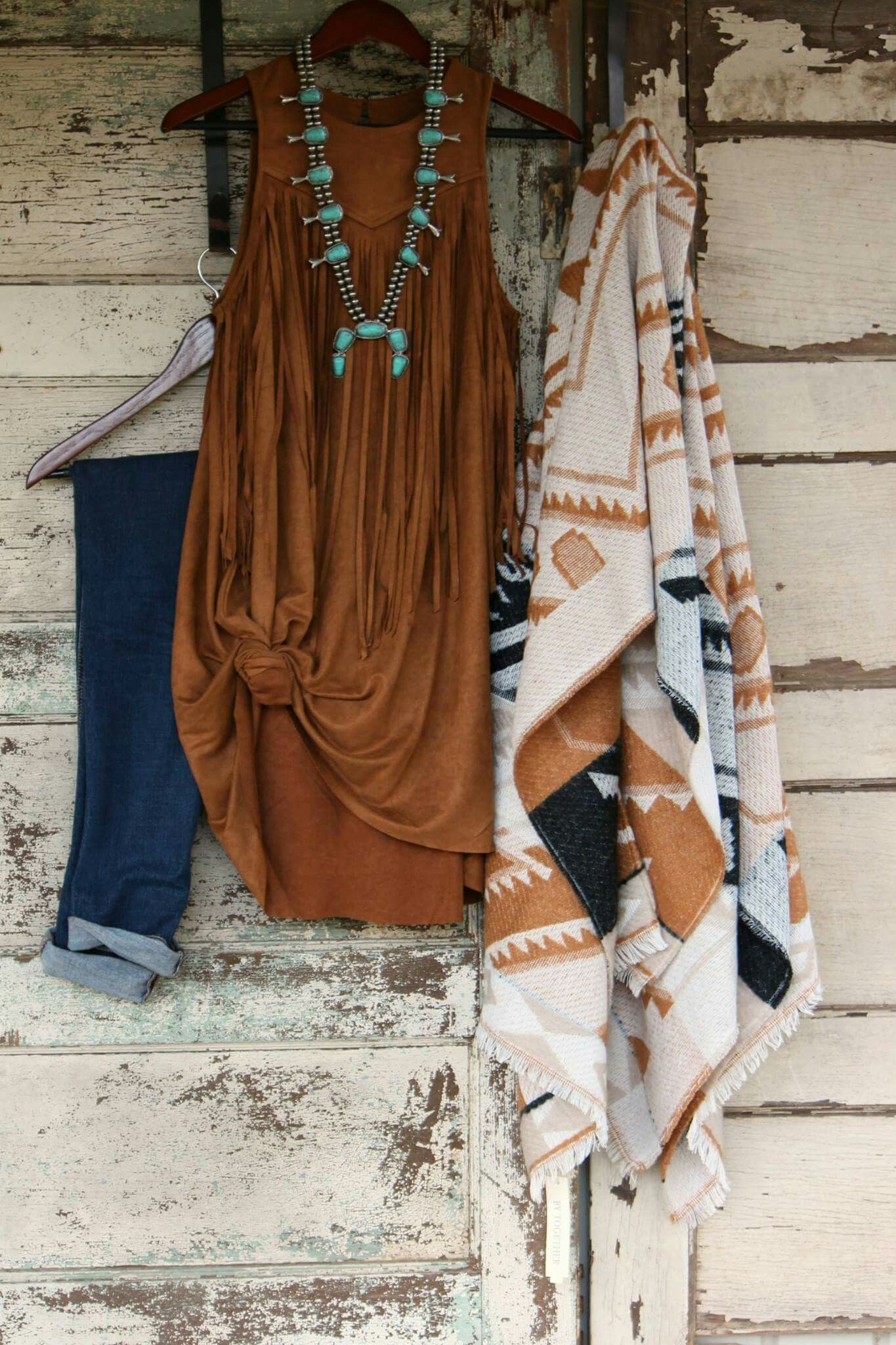 Country Western Style Clothing