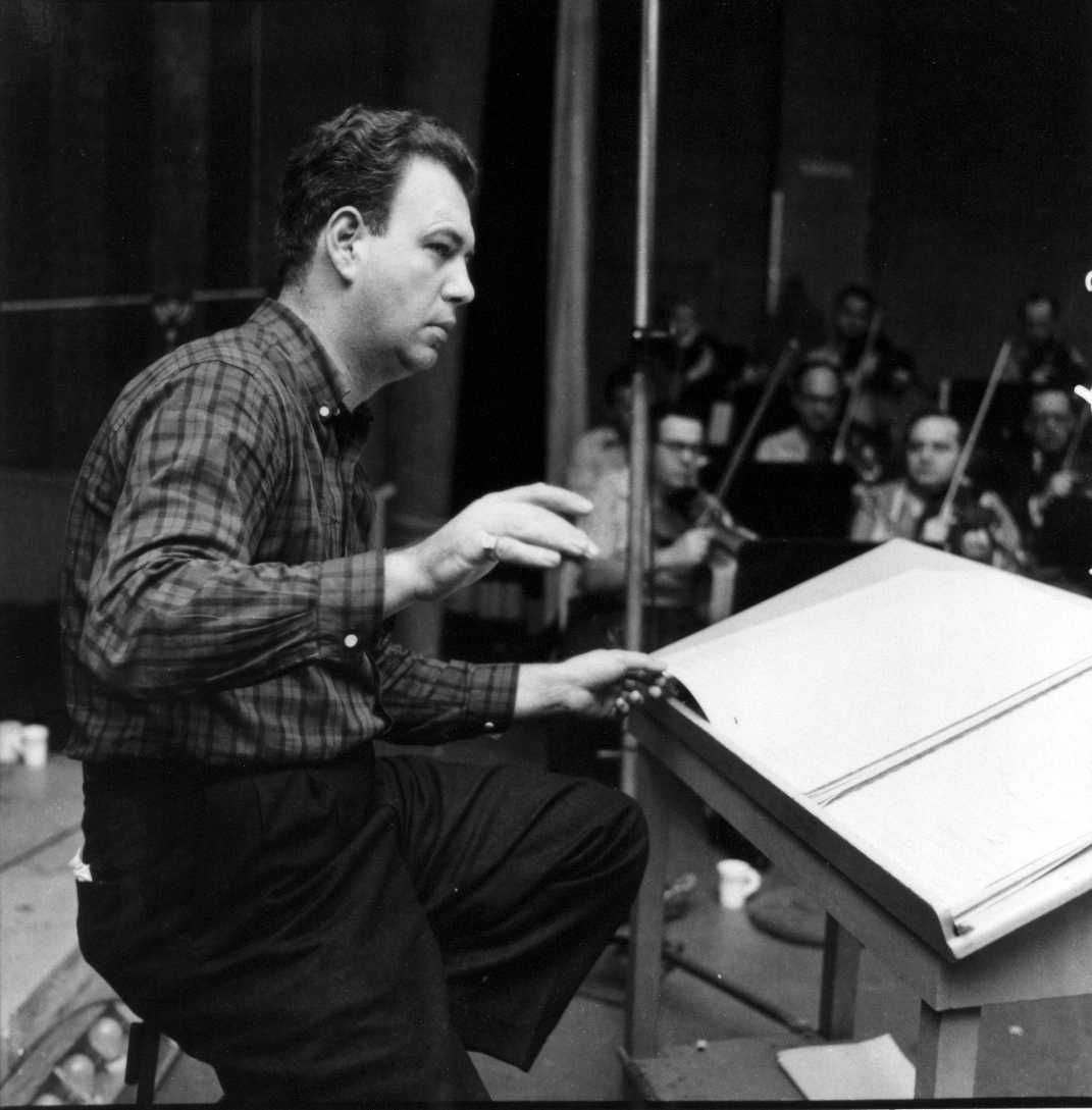 NELSON RIDDLE along with GORDON JENKINS and BILLY MAY were