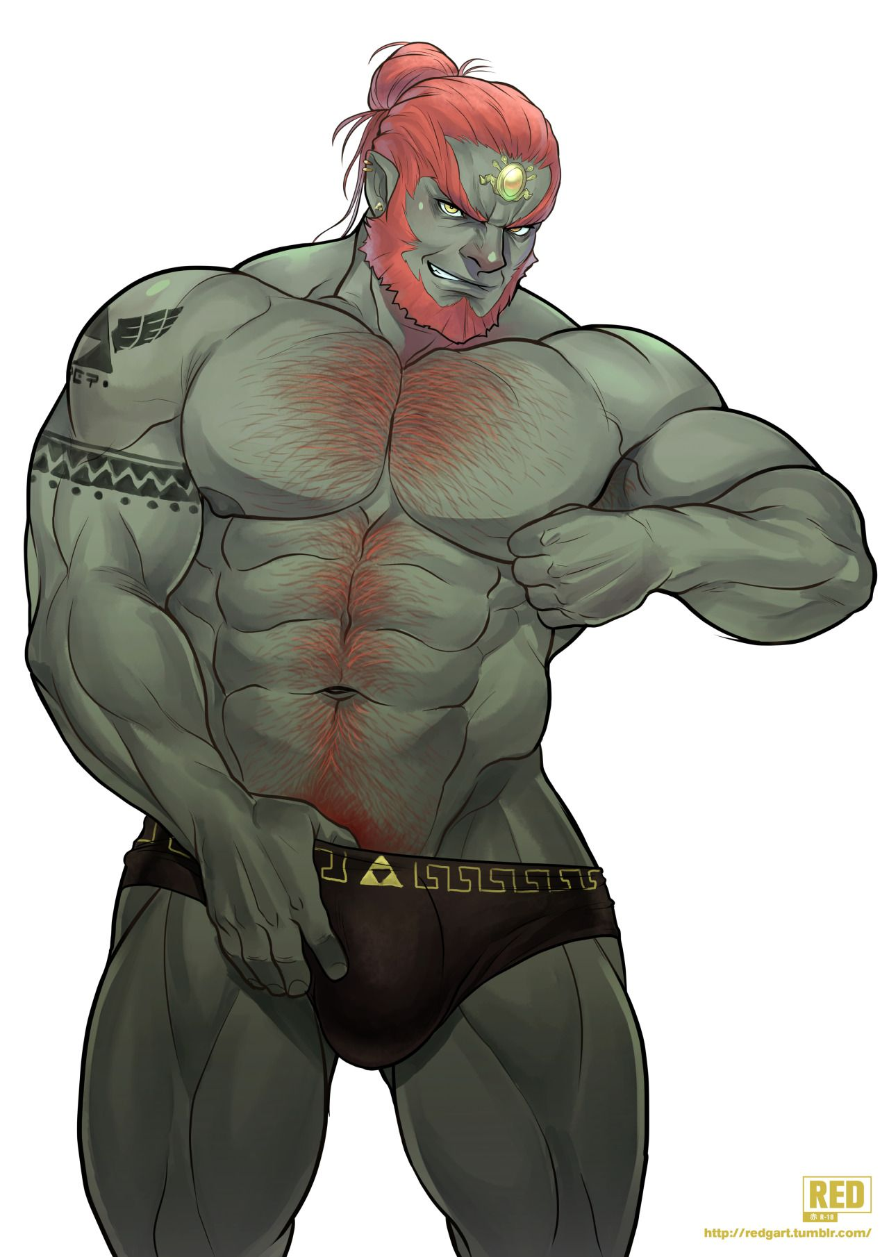 ganondorf gay sex