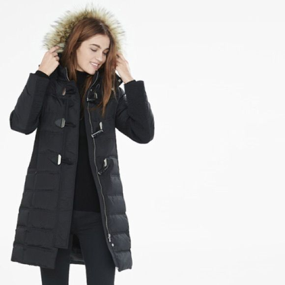 Down Puffer Coat EDAY SALE 1st picture is not actual coat please ...