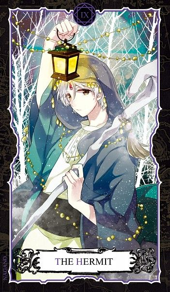 Ja'far | Magi: The Labyrinth of Magic Tarot Card | The Magi