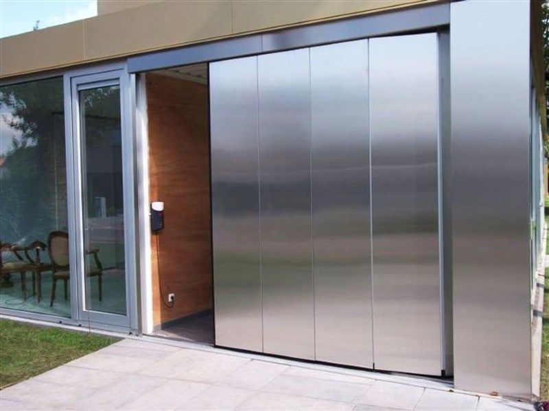 Aluminum Sliding Garage Door Sliding Garage Doors Garage Doors Sliding Doors Exterior