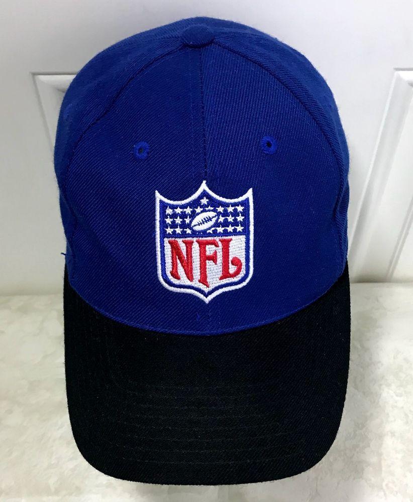 Vintage Puma NFL Shield Hat Patch Logo Snapback Cap Wool Blend Staff Ref   PUMA  BaseballCap 52de34da114