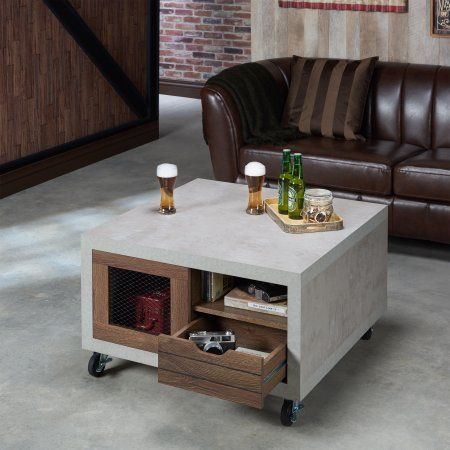 Best Furniture Of America Clayton Industrial Cement Like Multi 400 x 300