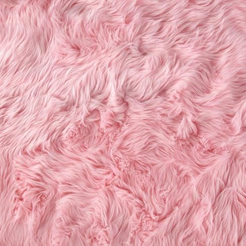 i really want this pink fluffy carpet for my platform bed