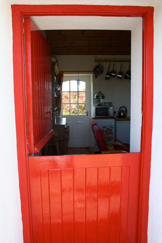 Half Door At Fushia Cottage Irish For Co Clare Cottageology