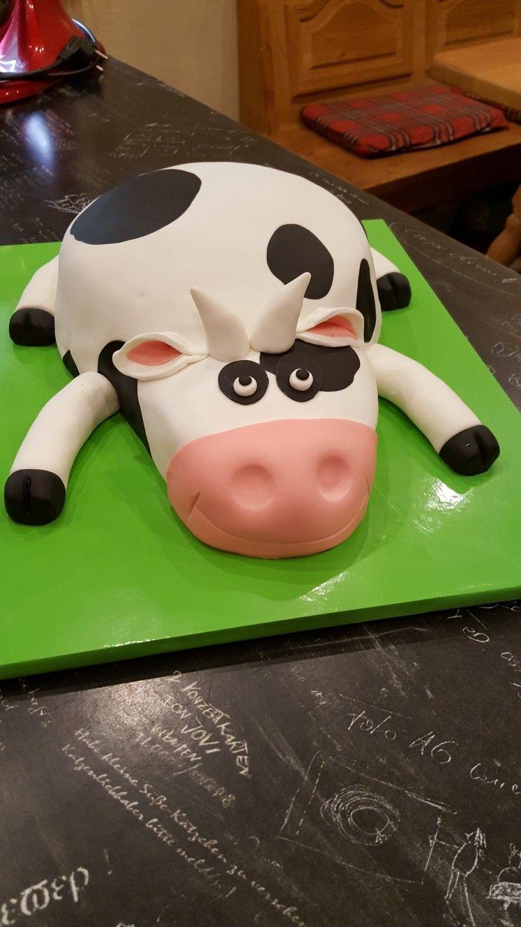 Kuh Torte Torten Kuh Geburtstagstorte