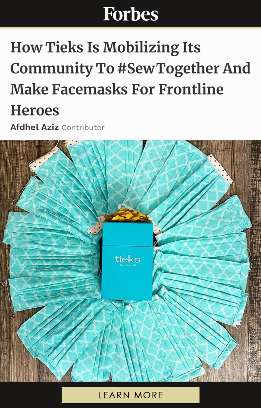 How Tieks Is Mobilizing Its Community To #SewTogether And Make Facemasks For Frontline Heroes