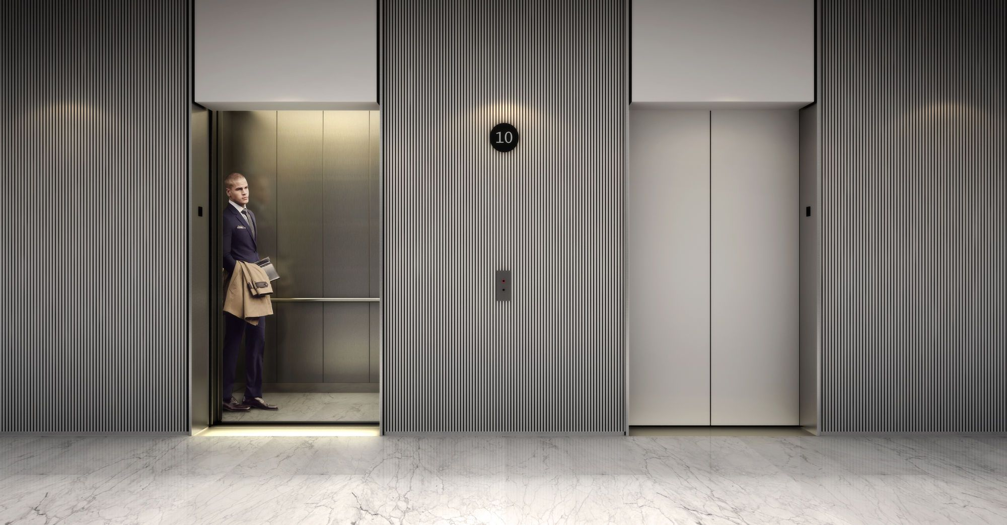 Galer a de visualizaci n en arquitectura 10eightytwo 5 for Elevator designs