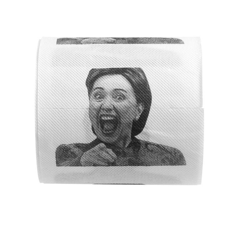 Donald Trump humour Papier Toilette Rouleau Nouveauté Drôle Gag Cadeau Dump Fashion