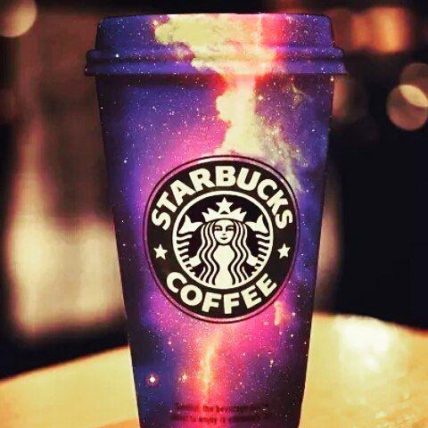 coffeeinspirations:  starbucks galaxy !