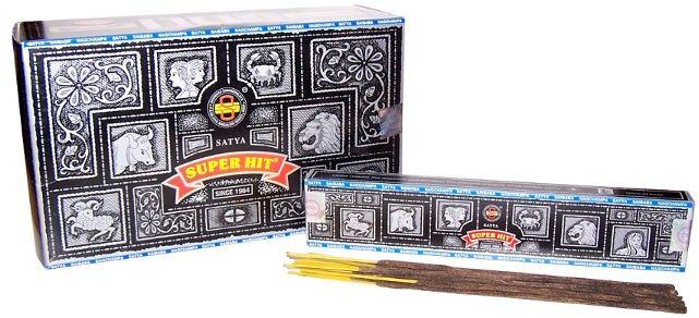 Nag Champa SuperHit Incense Sticks 15g pack £1.25 UK The Online-Giftshop.co.uk