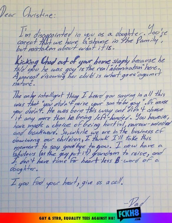 This Kick-Ass Letter From A Father To His Bigoted Daughter Will Make You Believe In Humanity Today