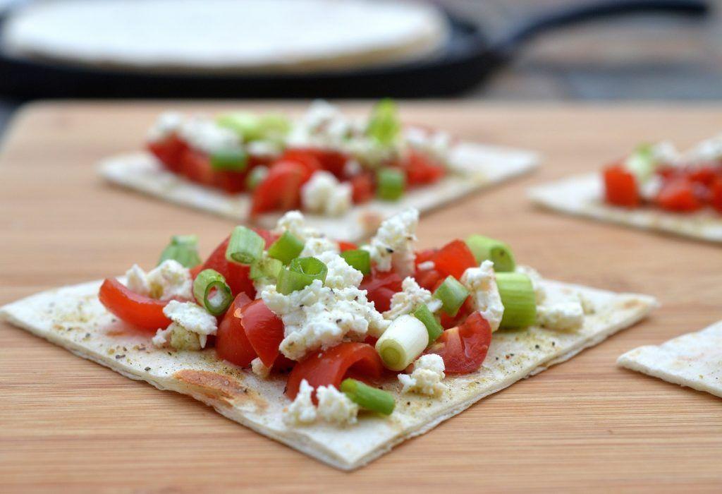 Mediterranean Feta and Tomato Bites