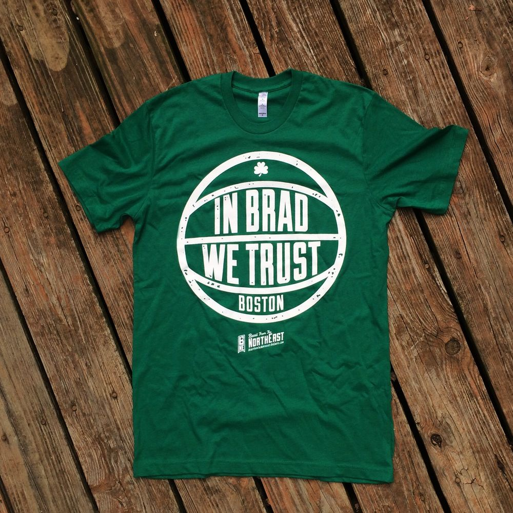 c9e23551a48 Beast from the Northeast 'In Brad We Trust' Tee | Tees | Tees, Mens ...