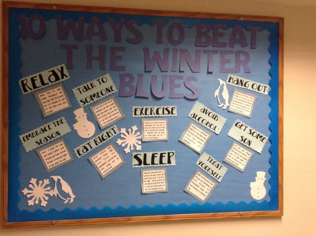 Winter Blues Board  Ra Ideas    Board Resident
