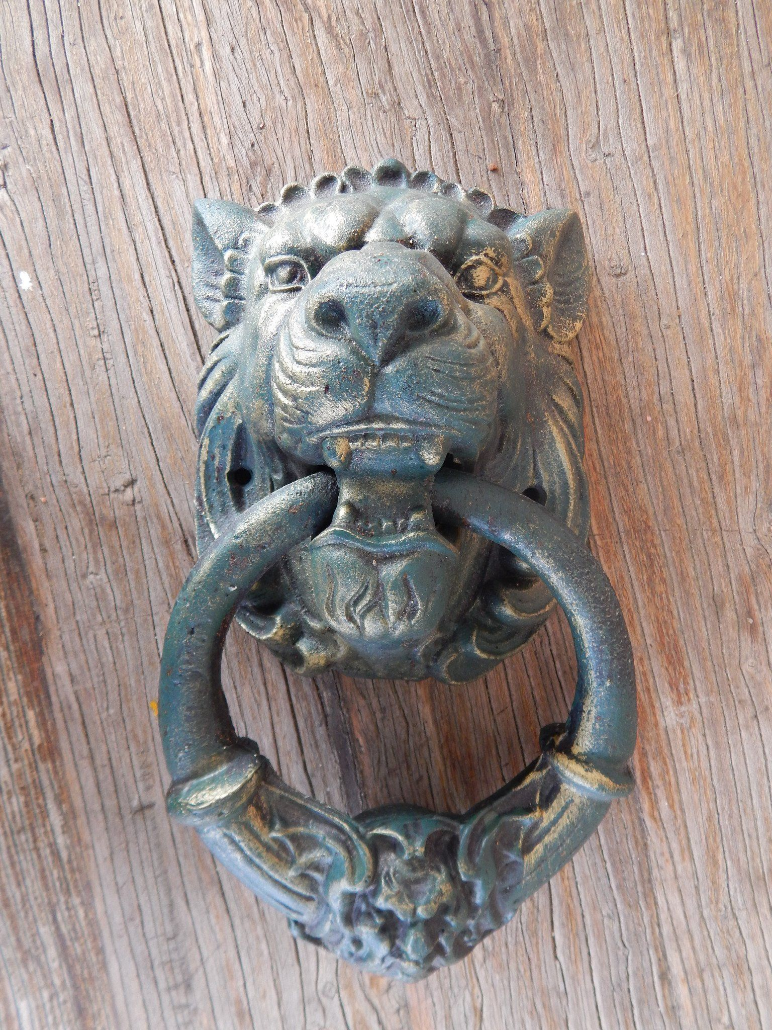 Cast Iron Door Knocker - Gothic Lion Head Antique Style Cast Iron Lions  Head Doorknocker. This features a heavy grade Cast Iron with very nice  detail. - Lion Door Knocker -Cast Iron Gothic Lion Head Affiliate Programs