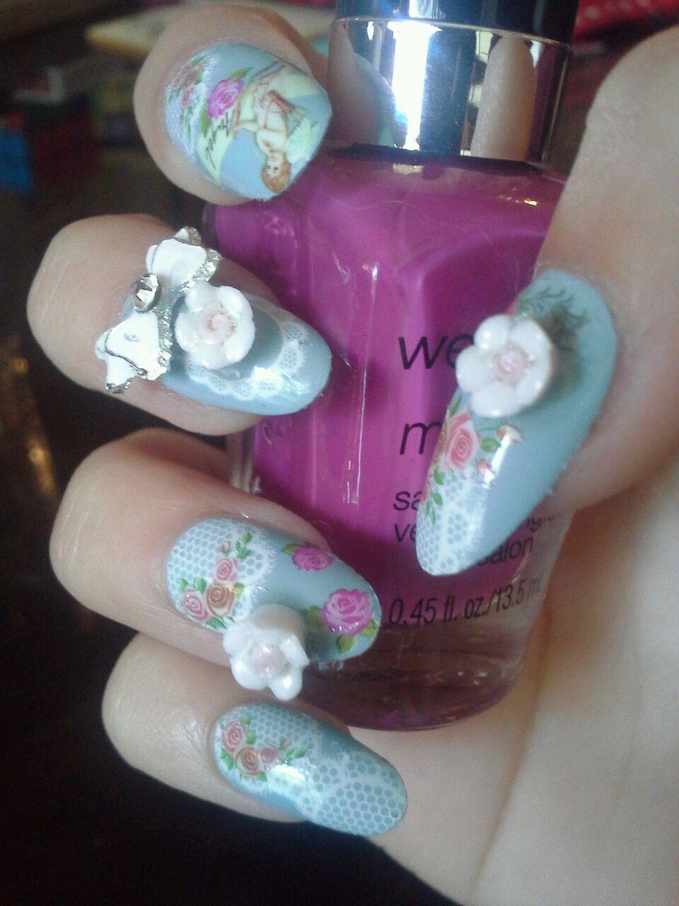 kawaii nails | Tumblr | nails and toes! | Pinterest