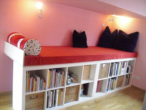 Expedit Repurposing Bett Kinderzimmer Kallax Bett Kinder Zimmer