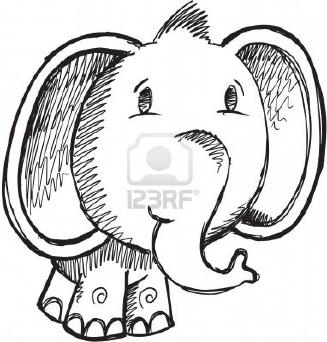Drawing Doodles Sketches elephant doodle - Google Search - 123RF - Millions of Creative Stock Photos, Vectors, Videos and Music Files For Your Inspiration and Projects.