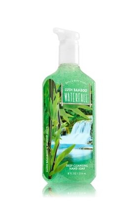 Lush Bamboo Waterfall Deep Cleansing Hand Soap Bath Body