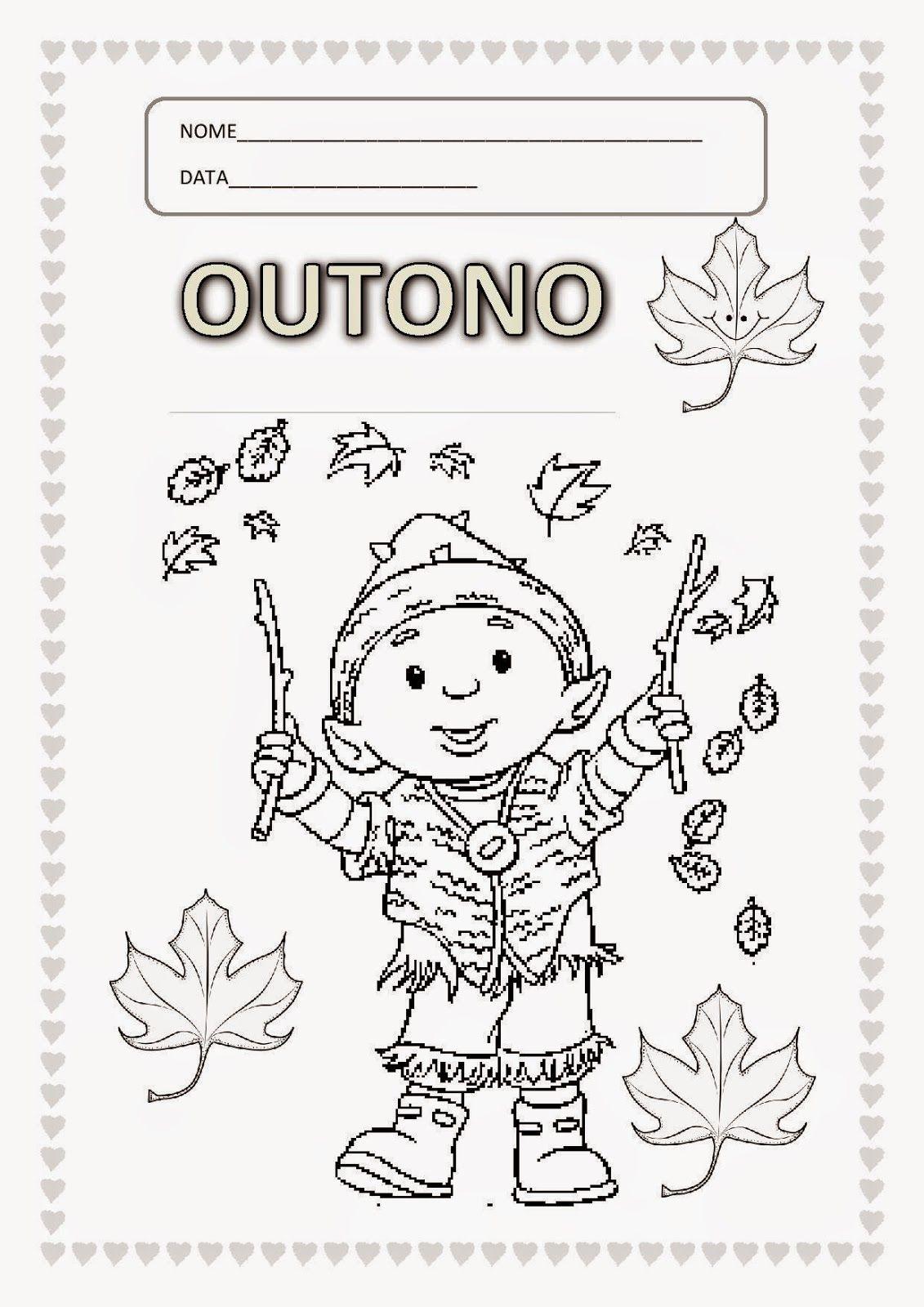 Outono Atividades Adriana Educacao Infantil Outono Pre