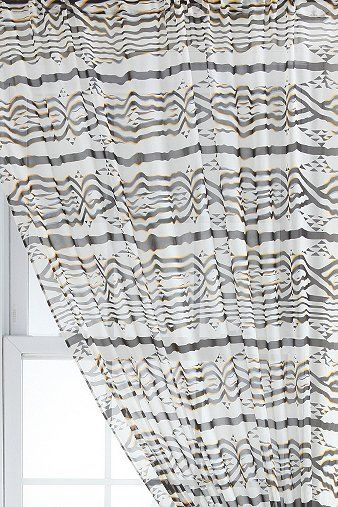 Scandances By Prince Ruth Print 546 Curtain (for bathroom)